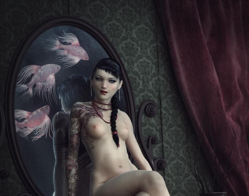 Girl behind the mirrorby Filip Novy