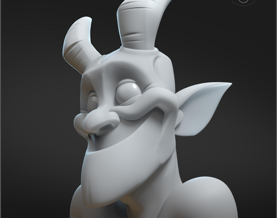 Zbrush Masters Stream Sculpt - Faunby PaulDeasy