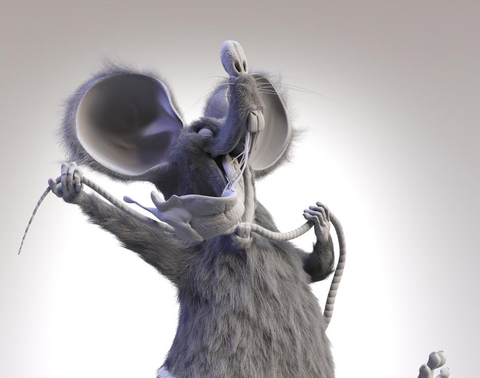 Strange Rat and Happyby Rafael