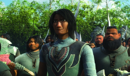south eastern asian character design model 3d render humans