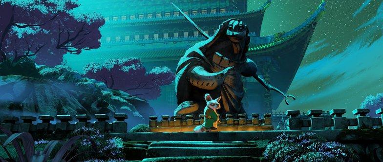 kung fu panda blues night colour scheme 2d