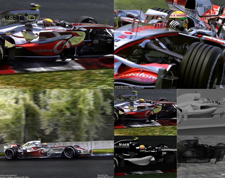'Lewis Hamilton 2007'by RayYang
