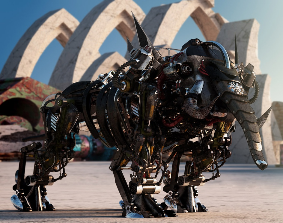 Sci-Fi Elephantby rbaldini