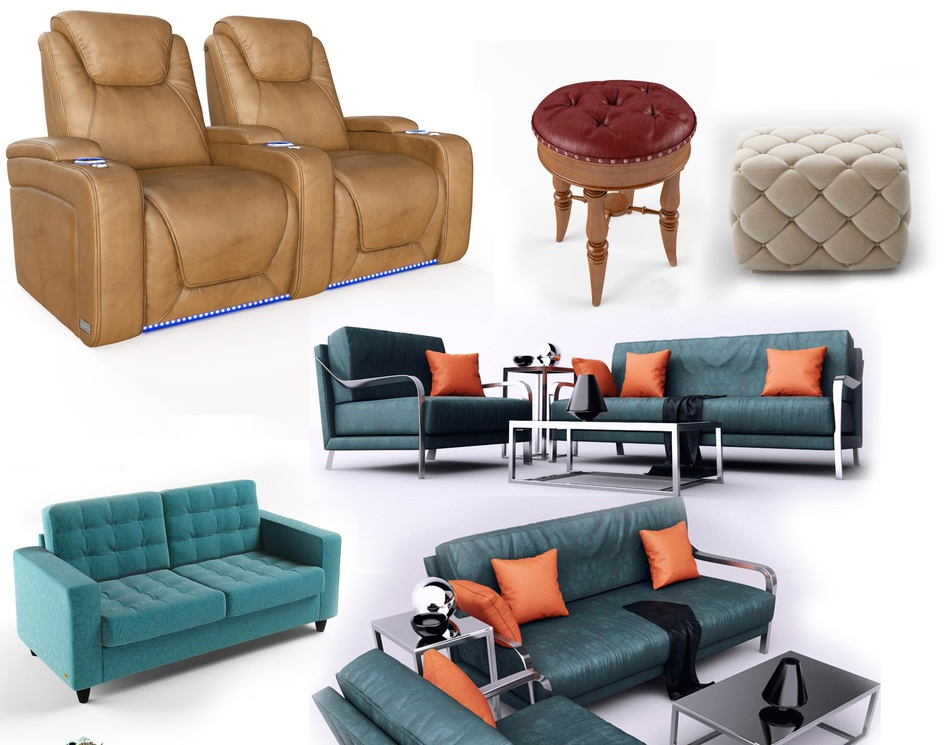 Realistic furniture 3d Product Modeling company & 3d Product visualization services - Denton, Texasby Ruturaj Desai
