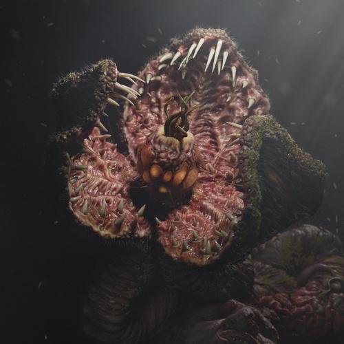 reincarnation 3d model realistic plant horror