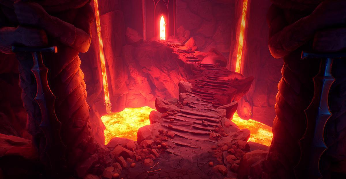 lava cave environment