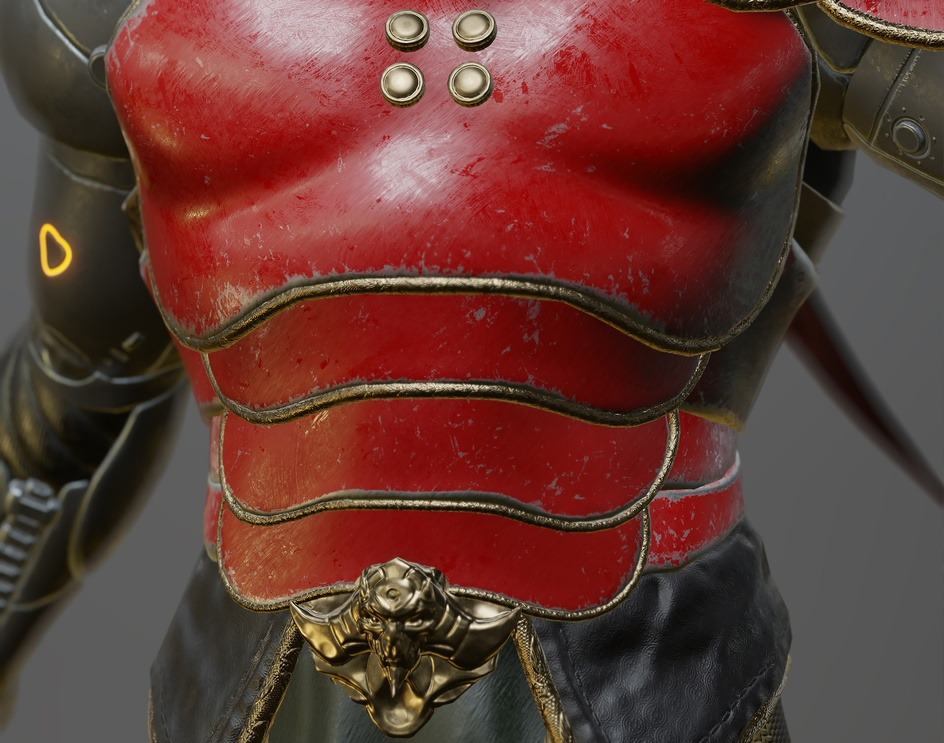 Kohryu The Iron Mole redesignby Brazucka