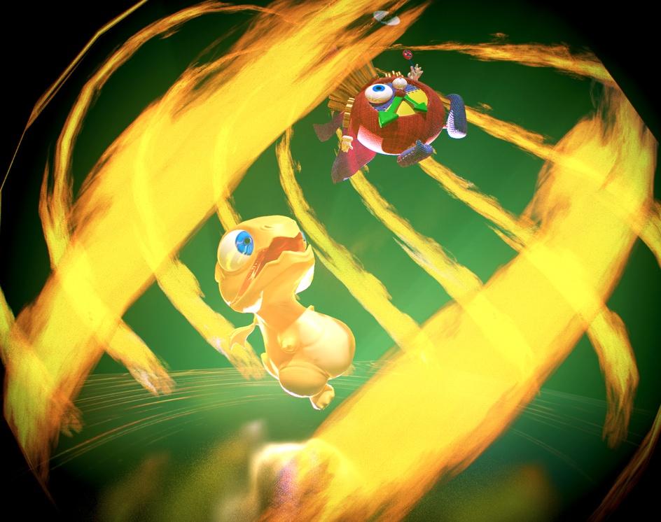 Baby Dragon + Time Wizardby Mario Cortez