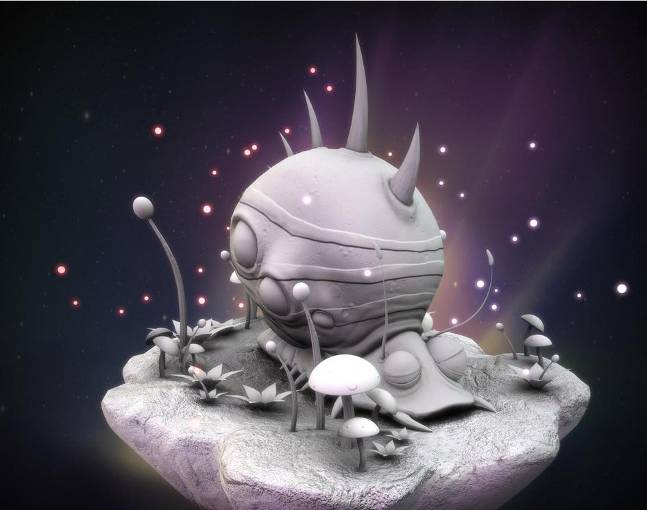 Zombie Snailby Rimon Roy Nath