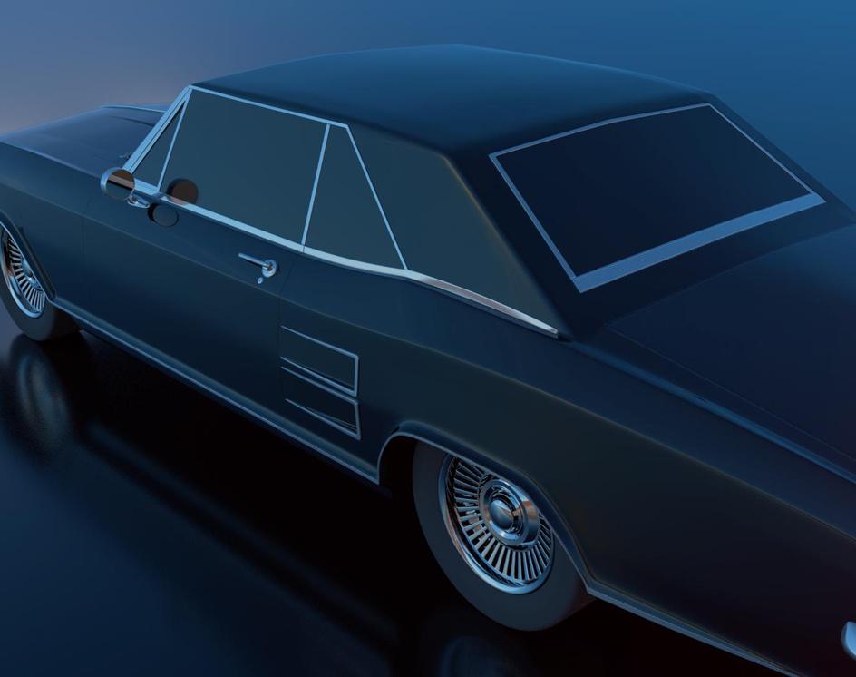 Buick Riviera '63by Sergio Castañeda