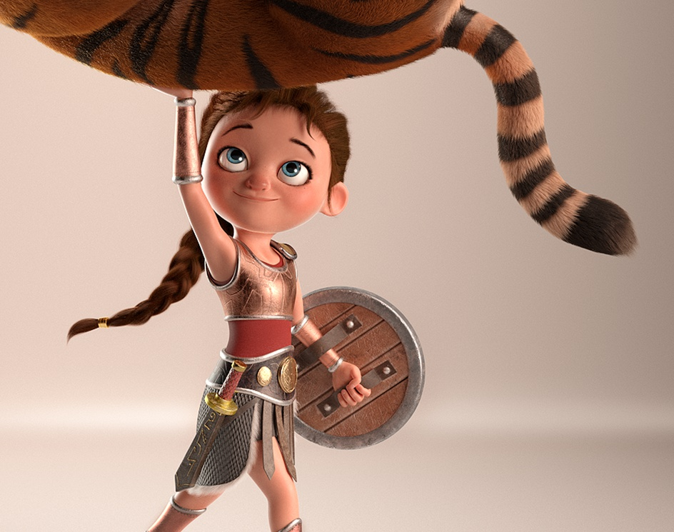 Little Gladiatorby Alexandre Mougenot
