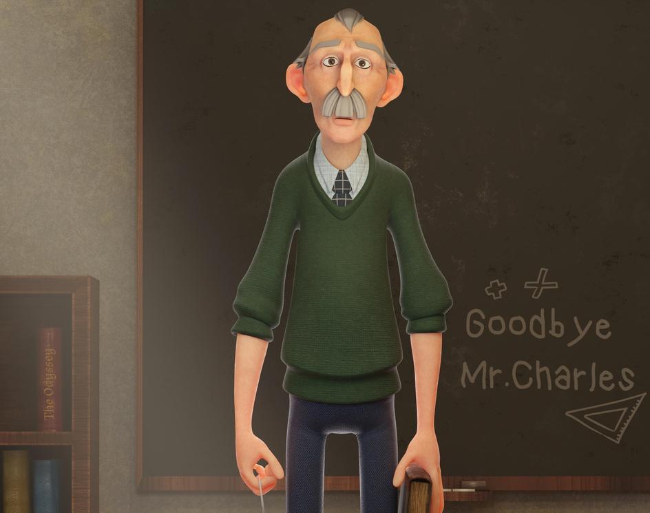 Goodbye Mr. Charlesby Gerard Martínez