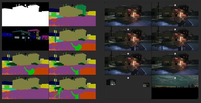 3d rendering structure