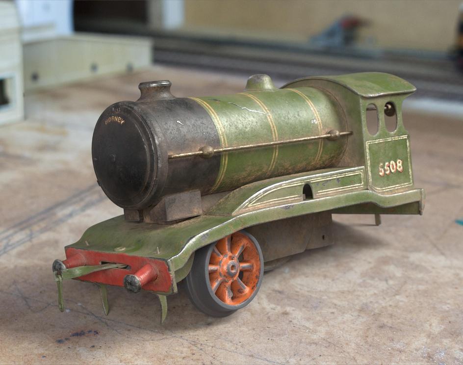 Vintage Model Trainby Darragh Dempsey