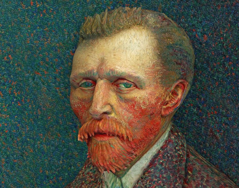 Vincent Van Gogh - 3D Paintby Indranil Ghosh
