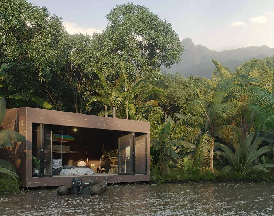 Hut Adventurer (Jungle hut)by 3Dmitri