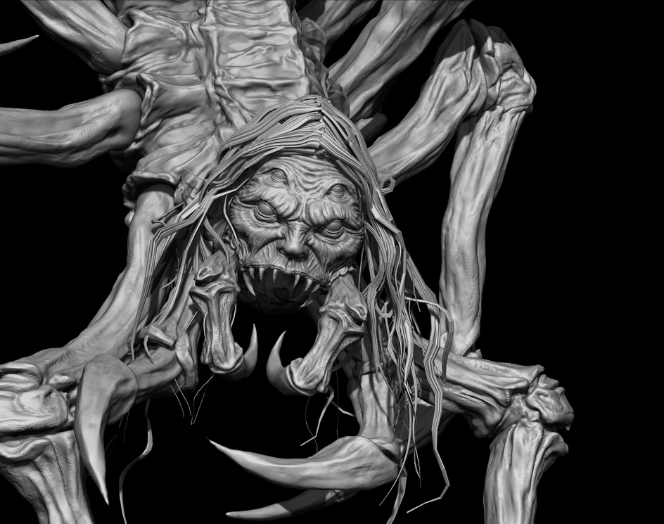 Creepy Spiderby Felipe Bomfim