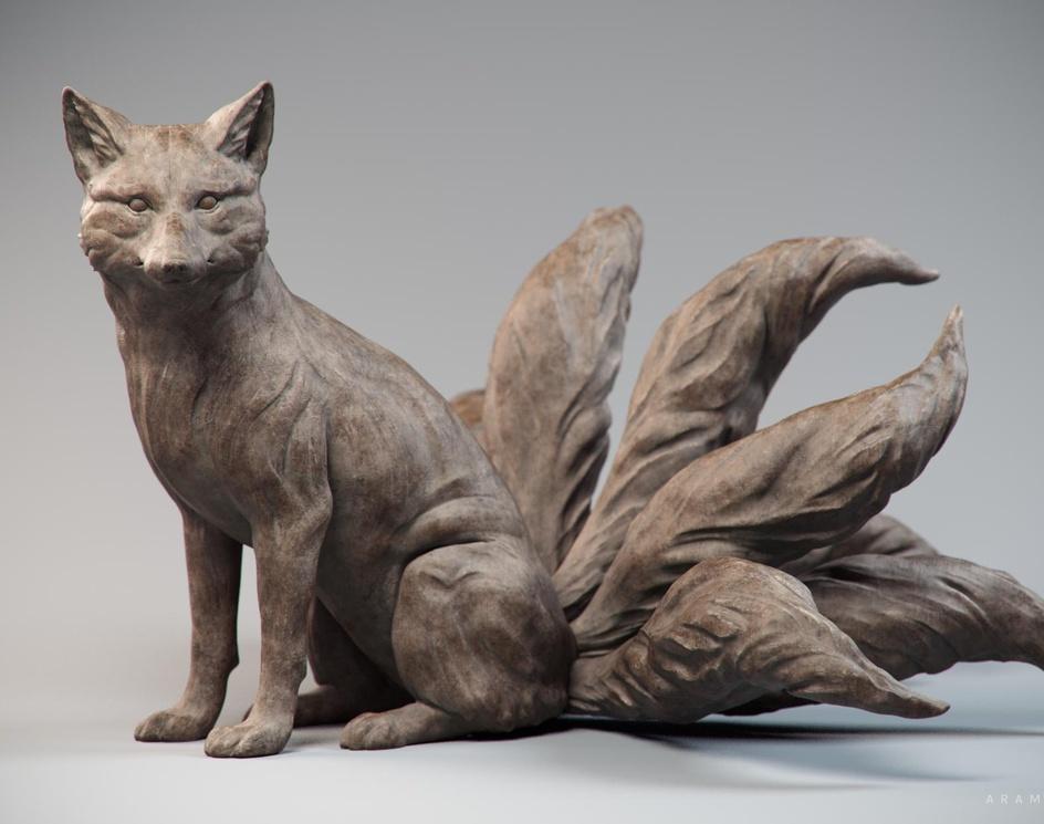 The fox spiritby aramhakze