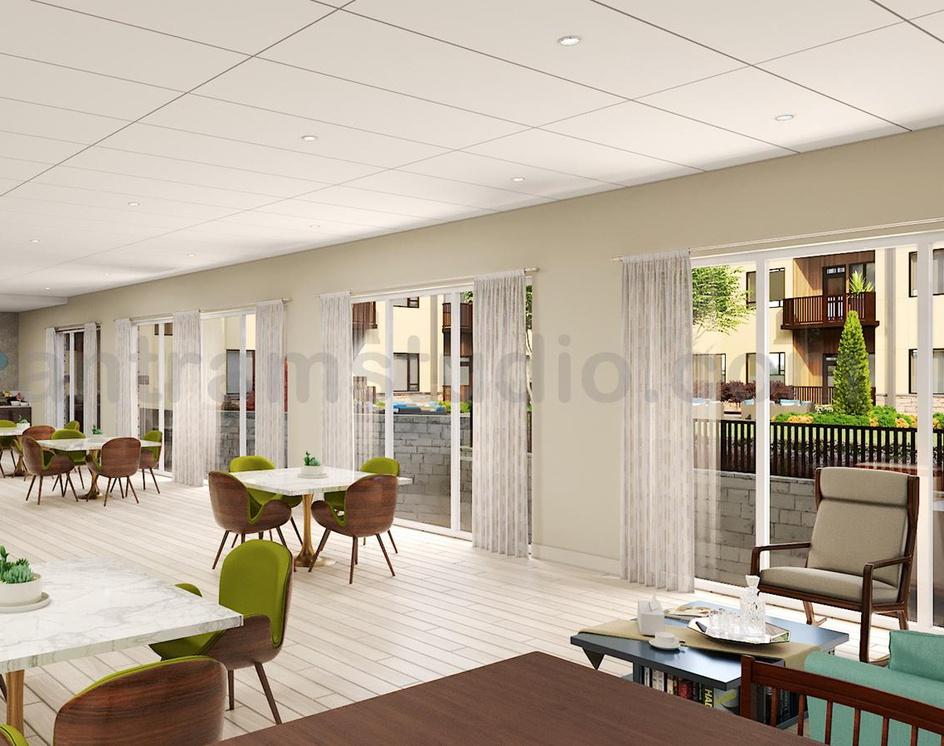 Residential Community Amenities area of Interior Design Firms by Interior Design Studio, Rio Rancho -  New Mexicoby Ruturaj Desai