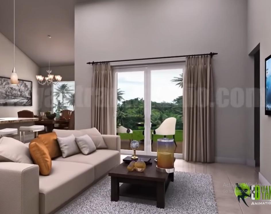 Residential Interior Designer Concept Walkthrough - Condominium 3D Virtual Tour,by Ruturaj Desai