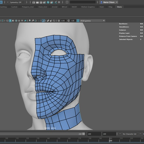 meshing topology 3d model