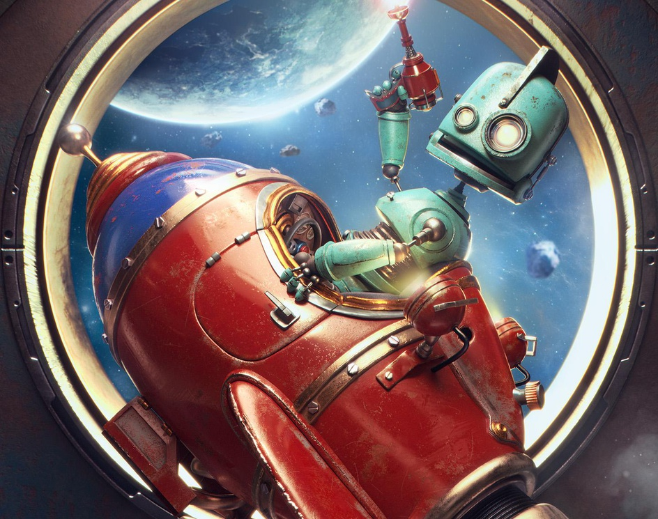 Tiny Robot's Dreamby Tomas.Kral