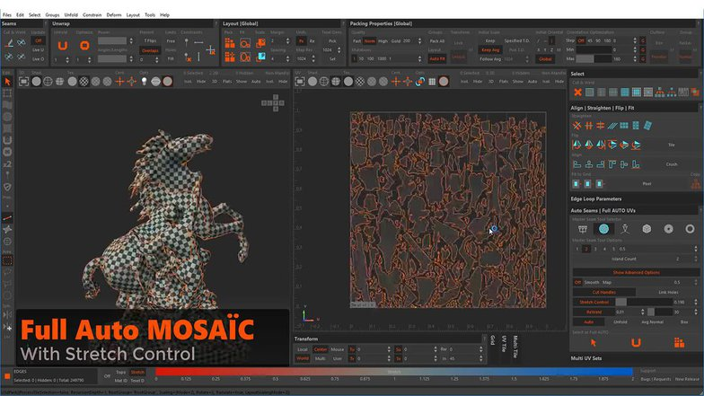 material shading horse effects