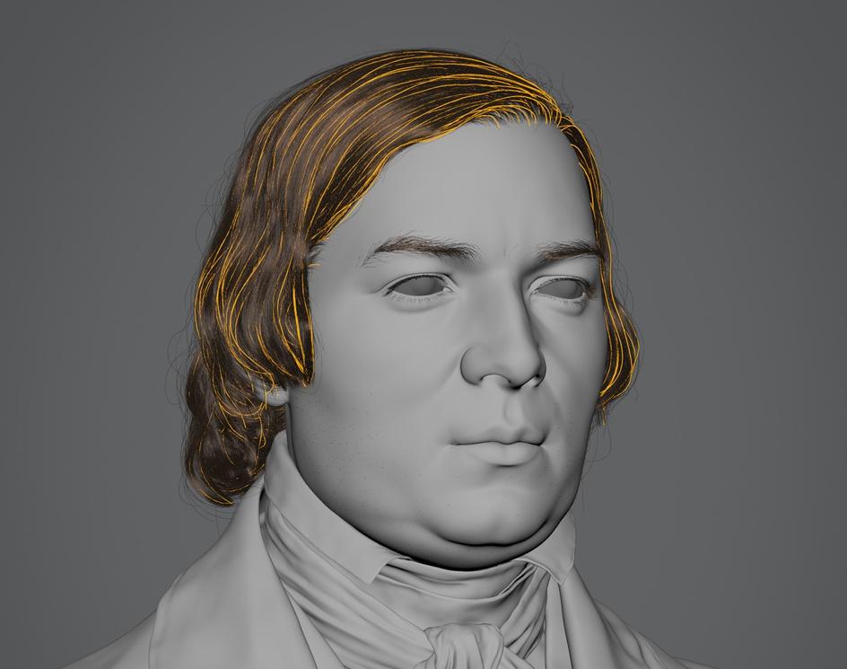 Robert Schumann (1850)by Hadi Karimi