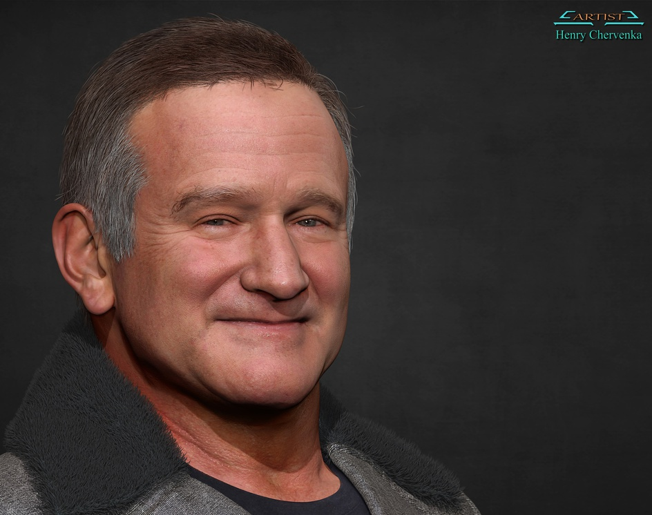 Robin Williamsby Henry Chervenka