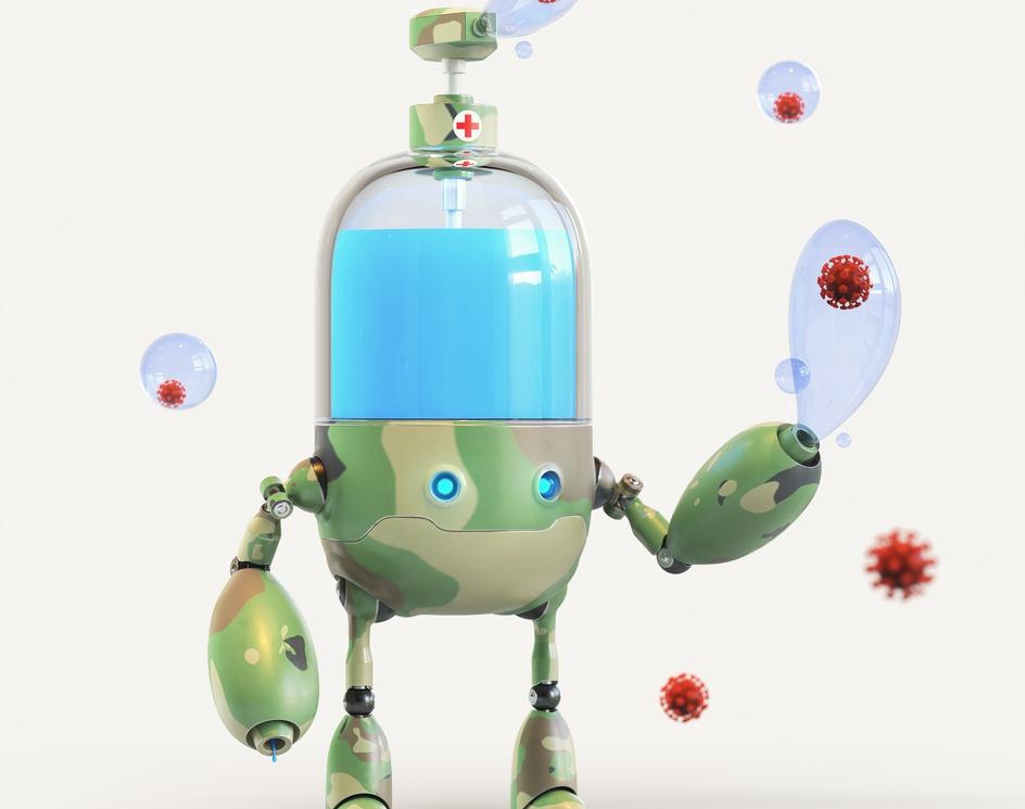 BUBBLEBOT 2020 - Antivirusby angel rapu