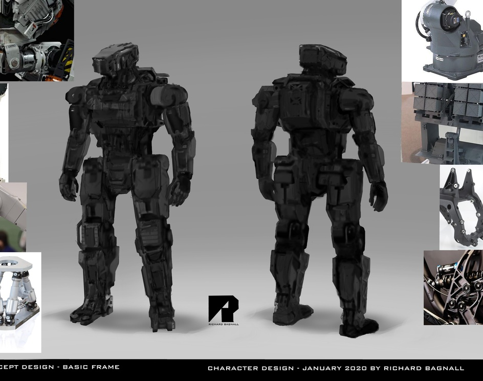 Droid concept designsby Richard Bagnall