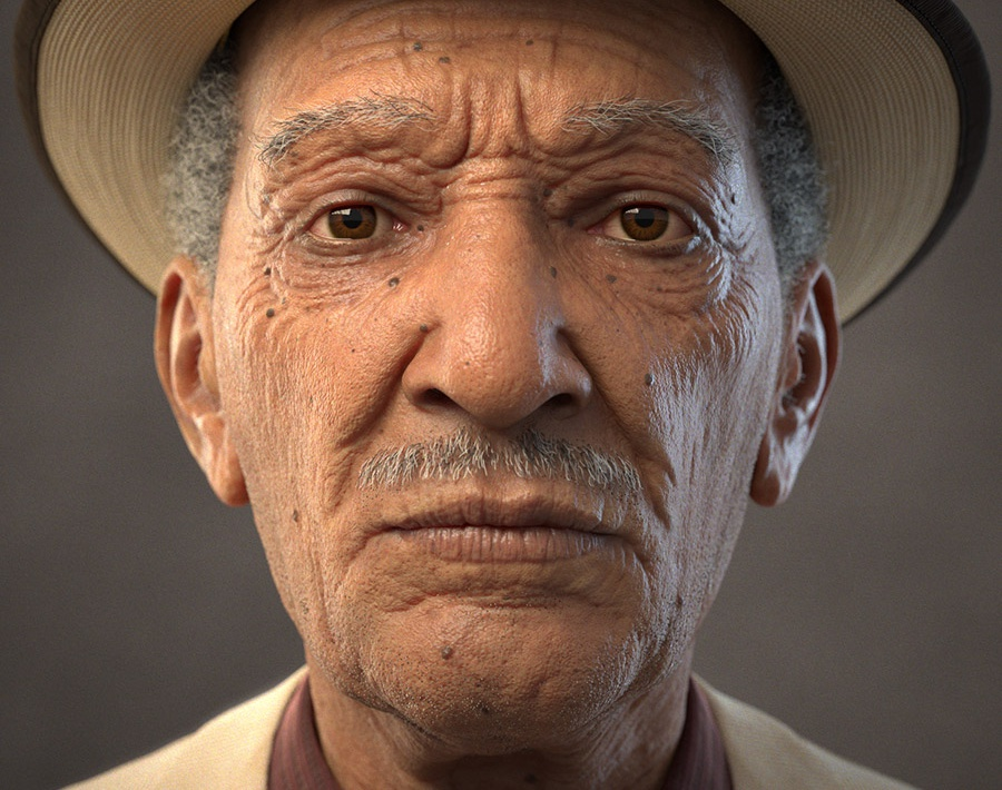 Musician's Portrait - Frontby Akin Bilgic