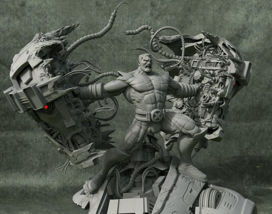 Colossus Fan Artby Rofokal