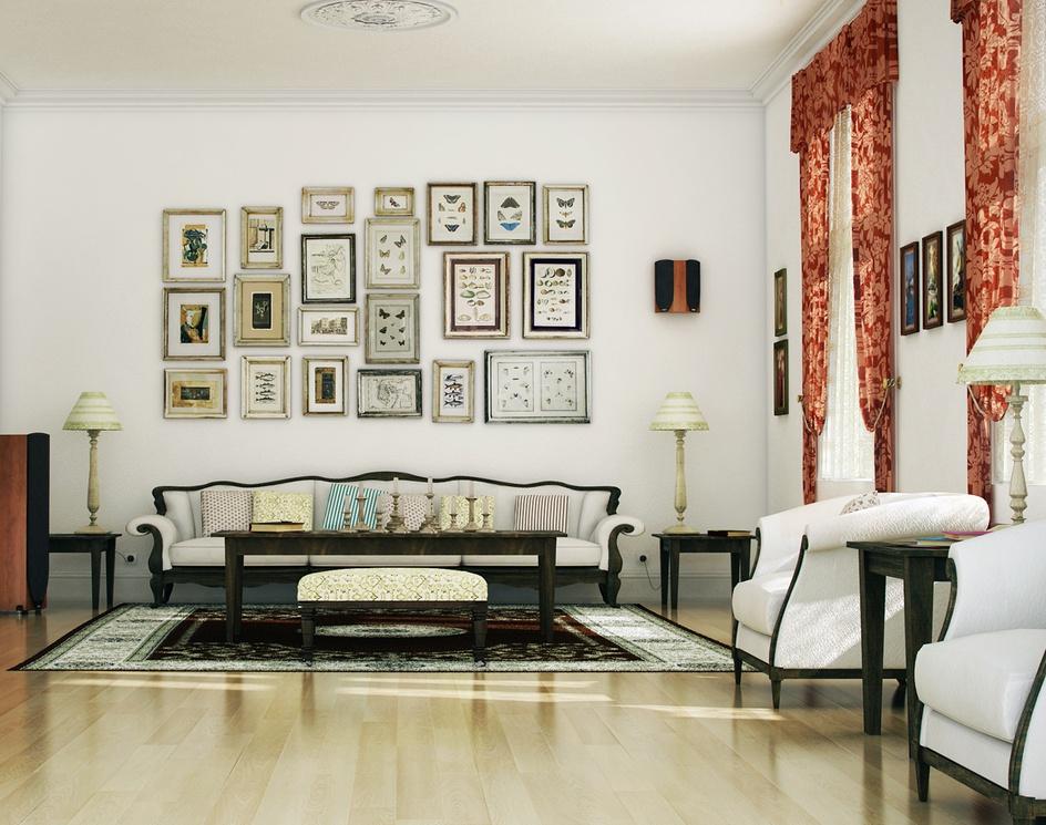 Classic Livingroomby rogervilac