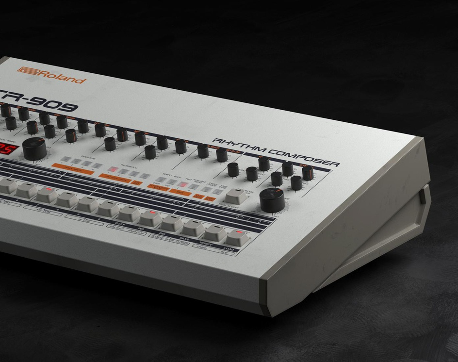 Roland Tr-909by Thomas Deffet