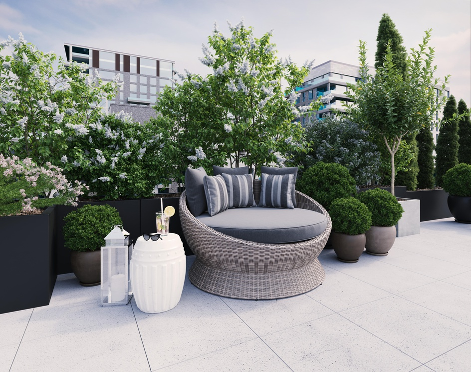 Rooftop Outdoor Furniture   3D Modeling and Render by DEER Designby DEER Design