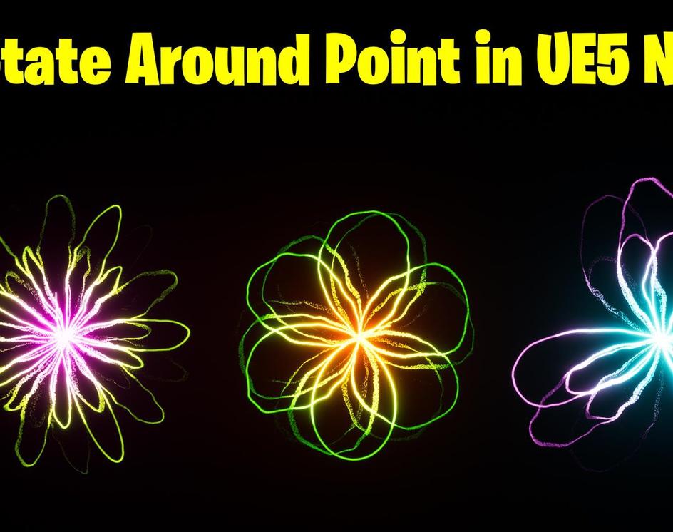 Rotate Around Point in UE5 Niagara Tutorial | Download Filesby Ashif Ali