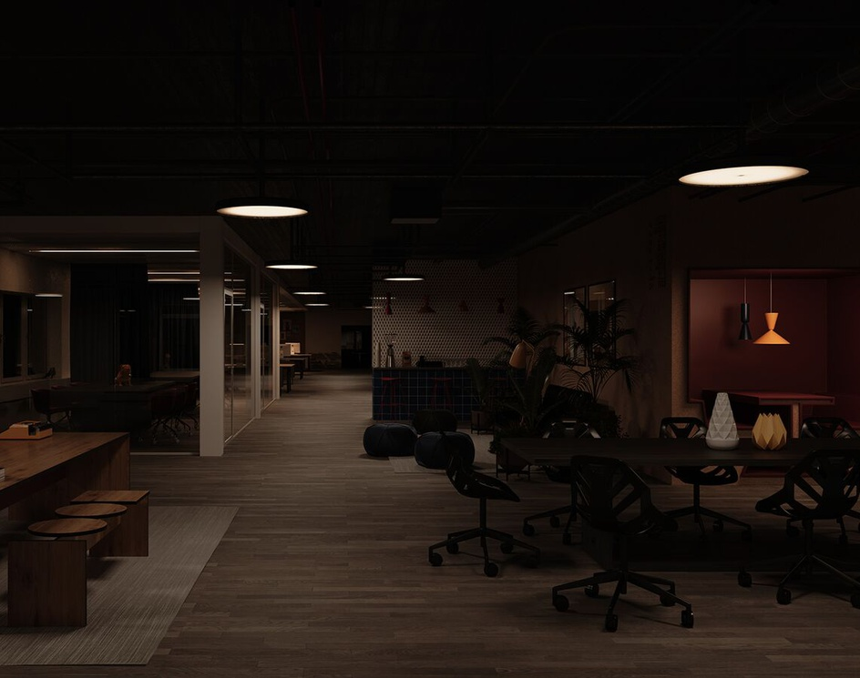 3D Rendering For An Office in Rotterdamby Abdullah Razee