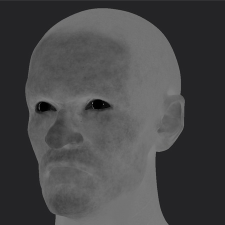 texture painting values model render head base shape