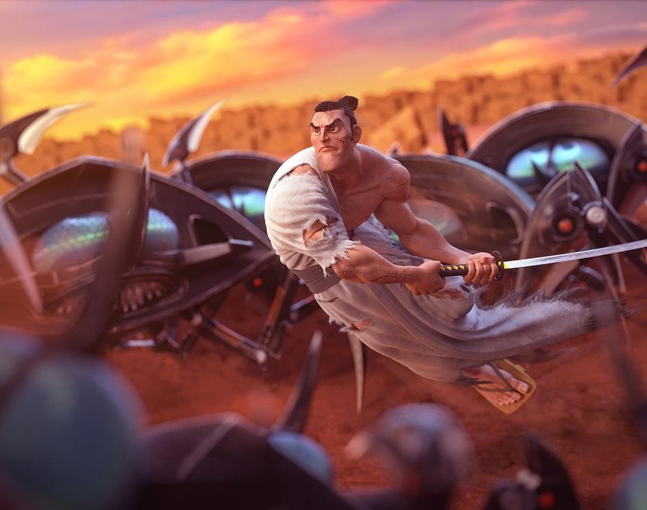 Samurai Jackby Roumen Filipov