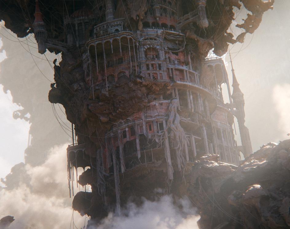 ruins movie versionby Hirokazu Yokohara