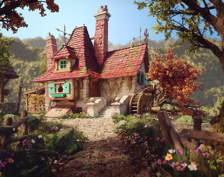Belle's Cottageby Rafael Chies