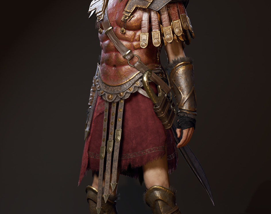 Assassin's Creed Odyssey - Spartan War Hero Outfitby Binet