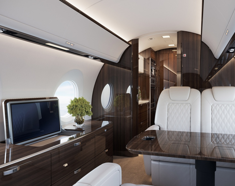 Business jet interiorby anton cherenko