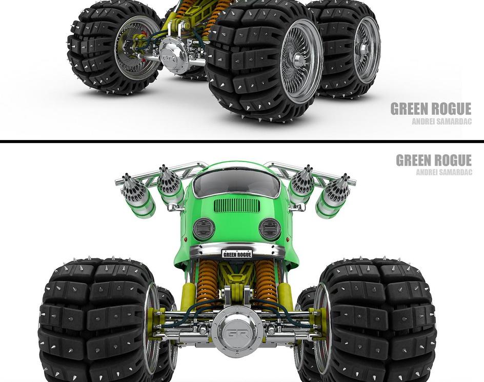 Green Rogueby samardac