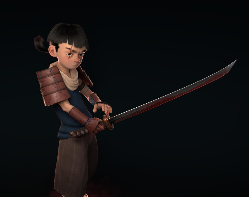 Bloody Young Samuraiby Khaled Ibrahim
