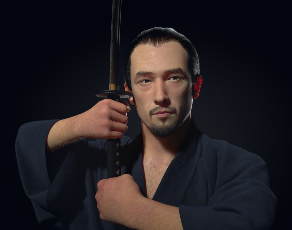 Samuraiby cristian martin