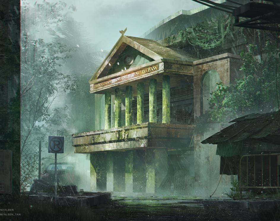 Abandoned Sanggunian Panlungsod ng Dabawby Alben Tan