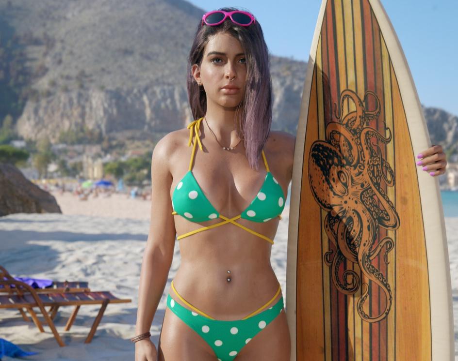 Surf girlby Elm_o