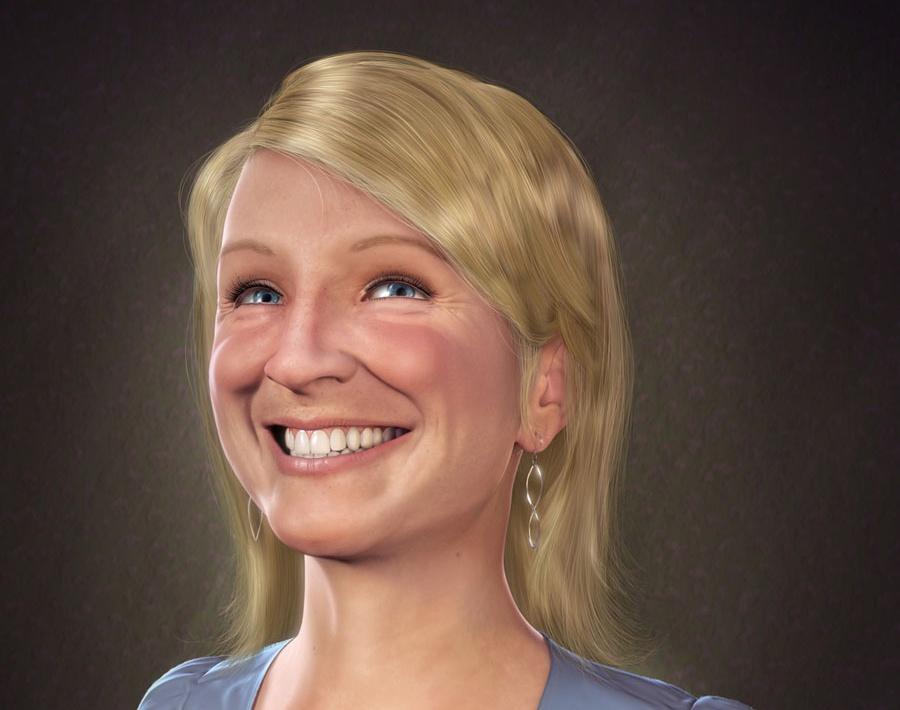 'Portrait of Jen'by Sandpiper